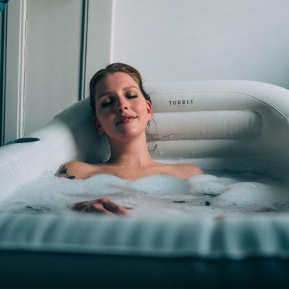 Uppblåsbart badkar Tubble
