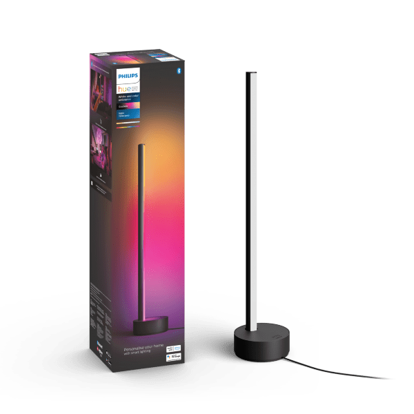 Philips Hue White and Color Ambience Gradient Signe bordslampa / Svart