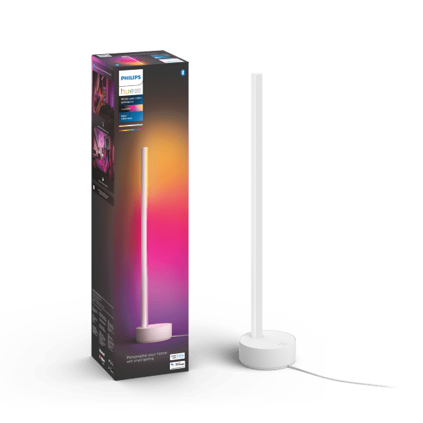 Philips Hue White and Color Ambience Gradient Signe bordslampa / Vit