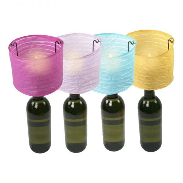 Ljuslykta till Vinflaska - 1-pack