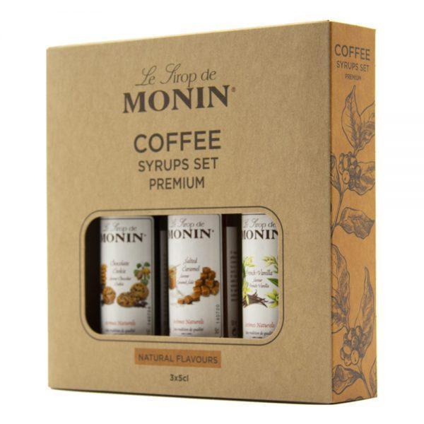 Monin Kaffesirap Presentkit - 3-pack