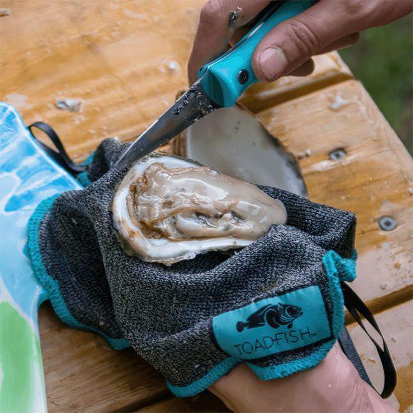 Skärsäker handduk