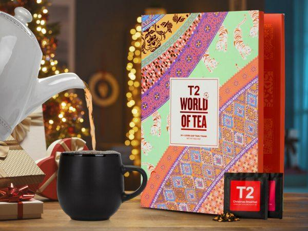 T2 World of Tea: Tekalender med Löste